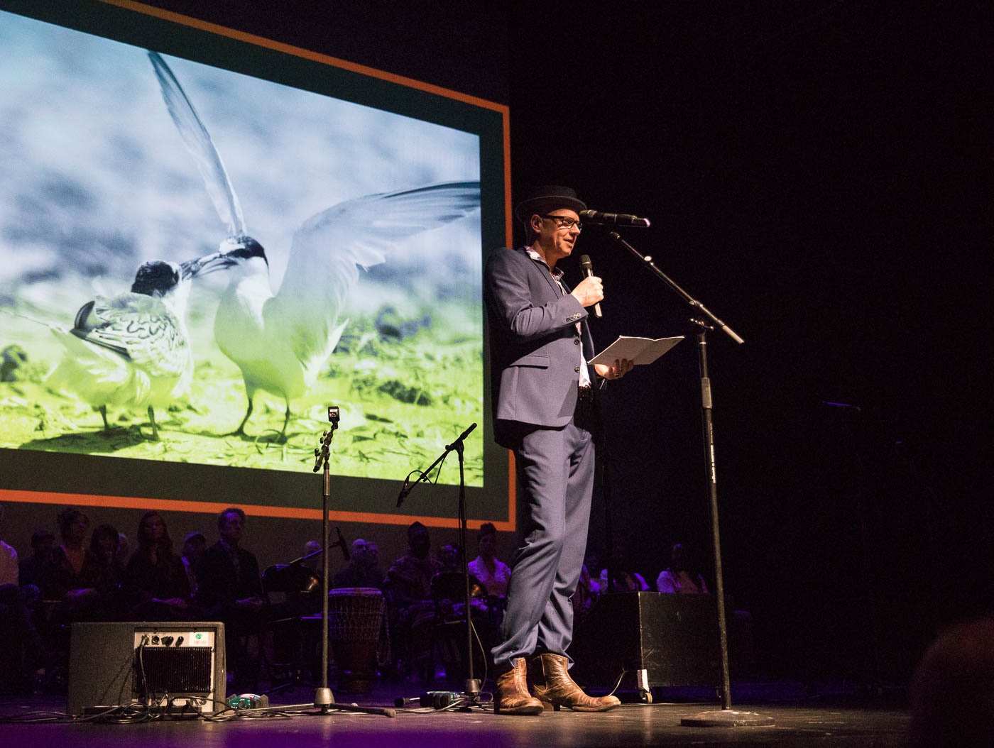 Moderator Jochen Kühling. Foto: Jennifer Kauka