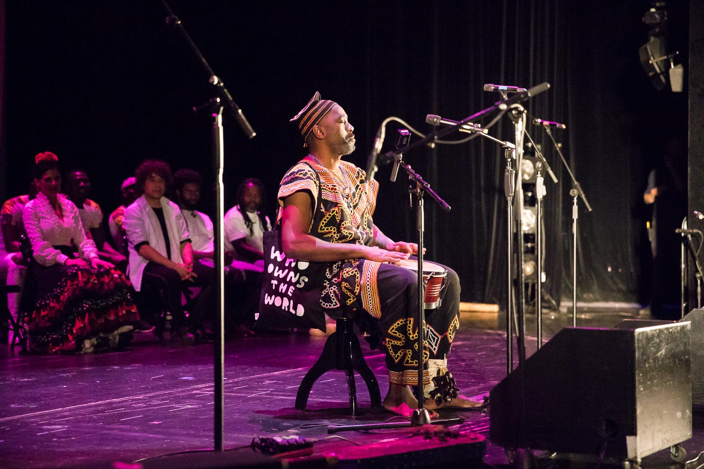 Njamy Sitson aus Kamerun. Foto: Jennifer Kauka