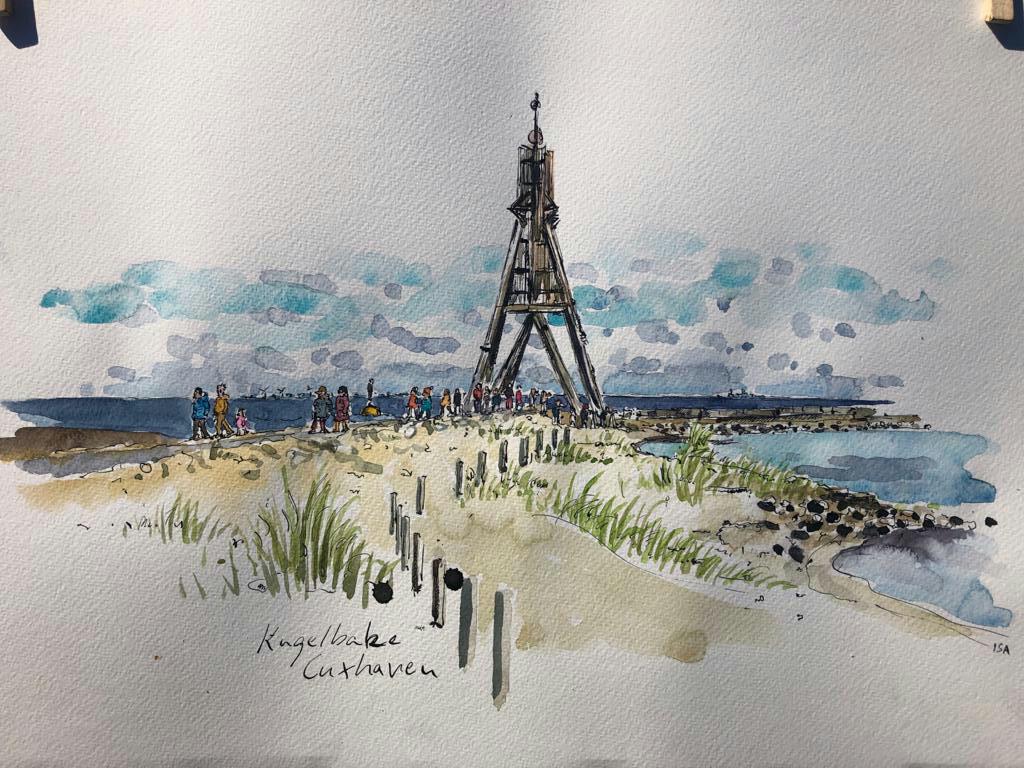 An der Kugelbake, Cuxhaven. © Isa Fischer