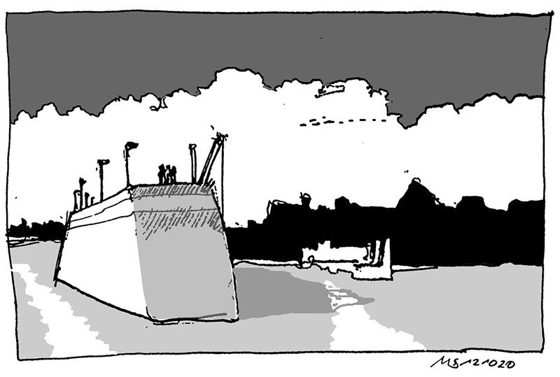 Hafenkulisse. © Manfred Schlösser