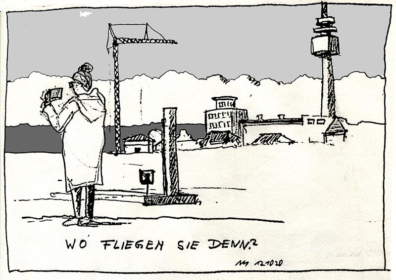 """""""Wo fliegen sie denn?"""" © Manfred Schlösser"""