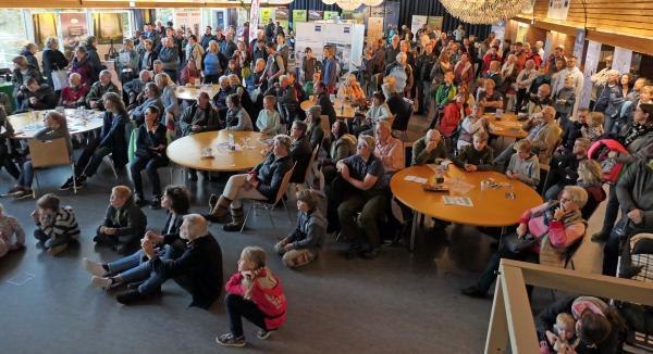 Publikum beim Zugvogelfest 2018. Foto: Nationalparkverwaltung