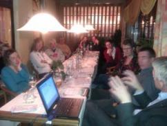 Gala-Dinner im Restaurant Windlicht auf Langeoog