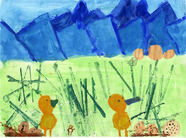 Zugvogeltage-Kinderbild